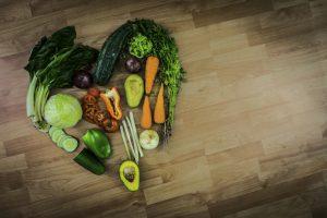 Loving healthy food